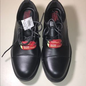 Dexter Comfort Memory Foam Dress Shoes Size 6.5 W